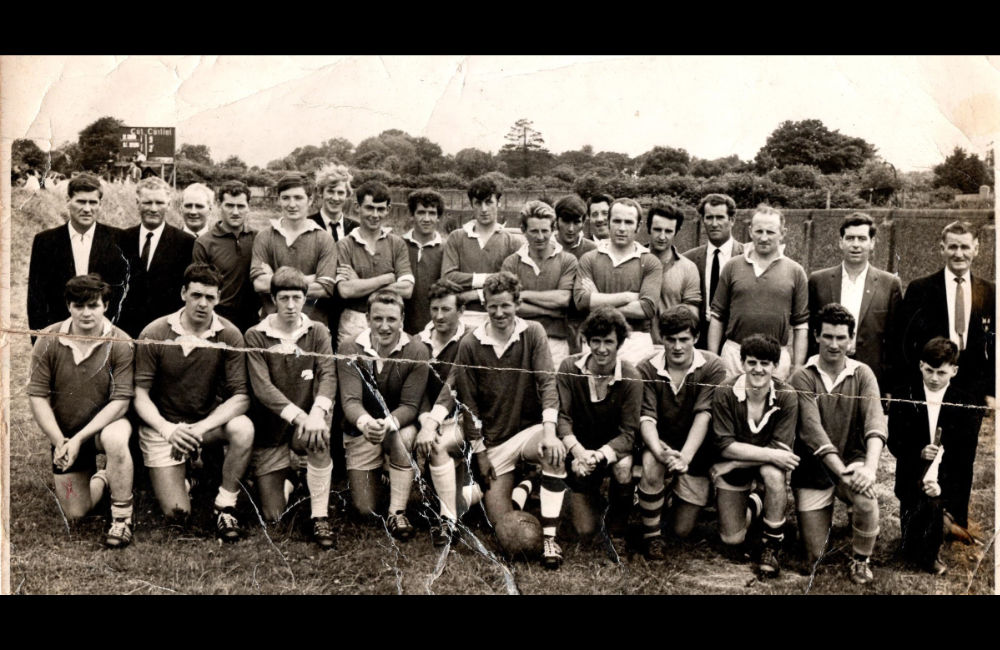 St Finians Football Team Summer 1969